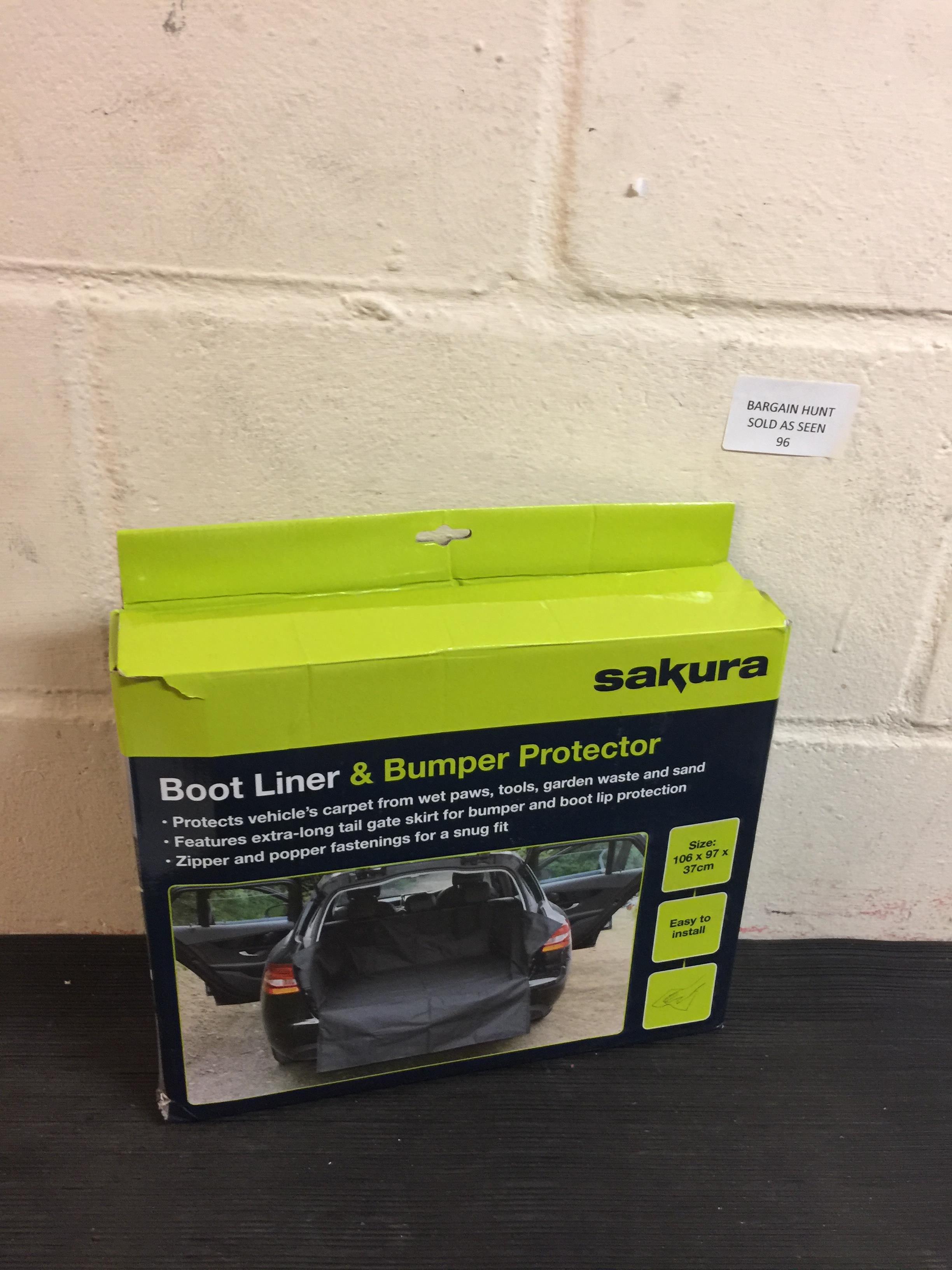 Lot 96 - Sakura Boot Liner & Bumper Protector