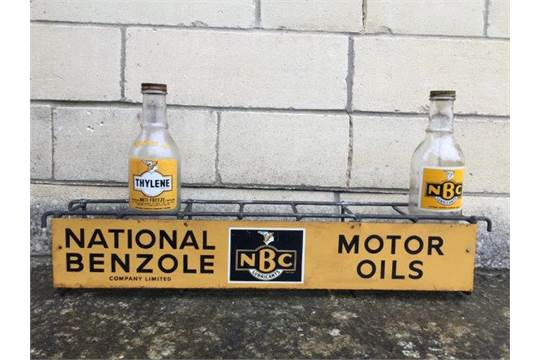 A rare NBC Lubricants, National Benzole Motor Oils seven