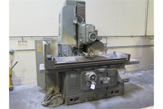 "Abawerk Type FFU 750/50 16"" x 30"" Automatic Surface Grinder s/n 5257"