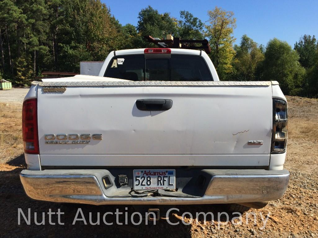 2003 dodge ram 2500 truck mileage unknown body type 4 door cab extended quad trim level s. Black Bedroom Furniture Sets. Home Design Ideas