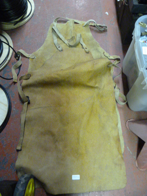 Lot 239 - Two Leather Aprons