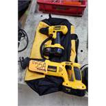 Dewalt Cordless Sawz-All and Drill Combo
