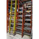 Sturdy 8'ft Fiberglass A Frame Ladder