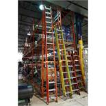 Werner D6232-2C 32'ft Fiberglass Extension Ladder