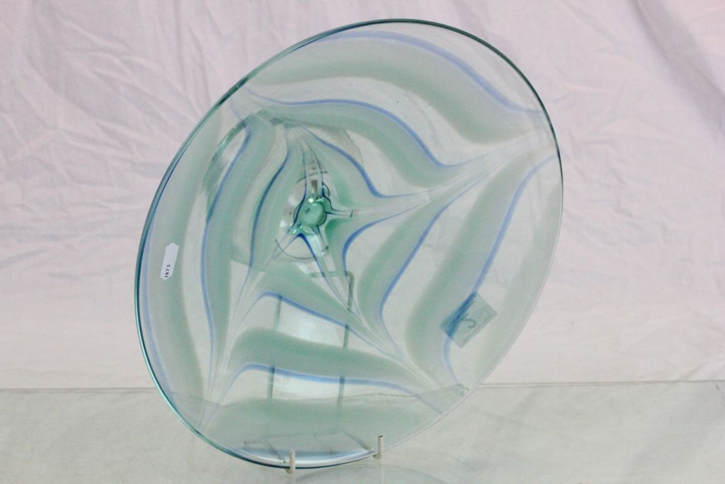 Lot 2 - Large art glass Fruit bowl