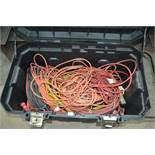 Rolling Box with Extension Cords