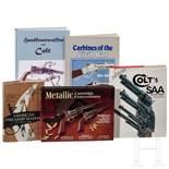 Fünf Bücher über US amerikanische Feuerwaffen