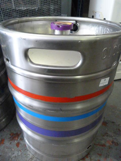 Lot 19 - *50lb Keg Carling Black Fruit Cider