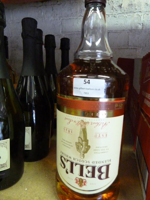 Lot 54 - *1.5L Bottle of Bells Blended Scotch Wiskey