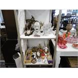 A quantity of assorted items including toys,