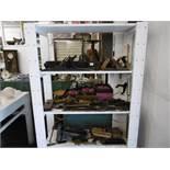 A quantity of antique & vintage tools & planes
