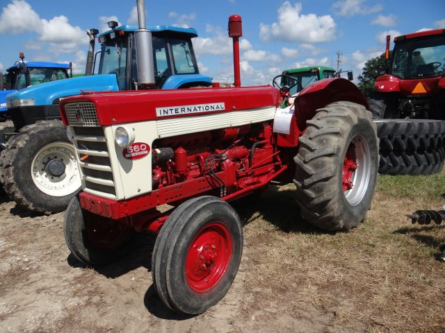 IH 560 Tractor, 1959 sel, Refurbished in 2008, New Wiring ...  Ih Wiring Harness on