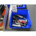 LOT - (5) PNEUMATIC RIGHT ANGLE DIE GRINDERS