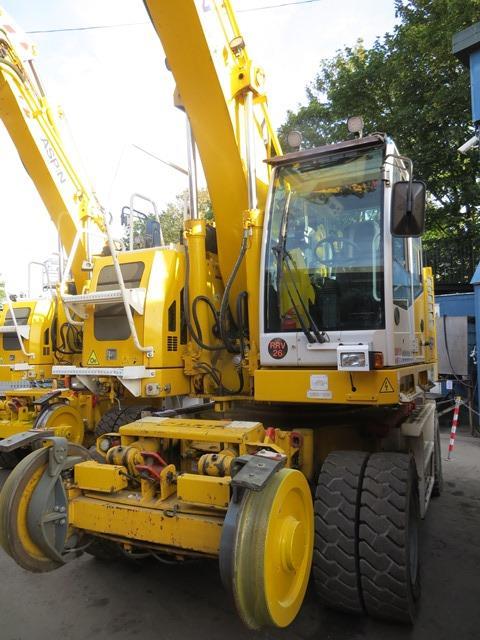 Colmar T10000FS road / rail excavator s/n 8753 (2016) running hours approx 2,080 c/w Euro 5 DPF.