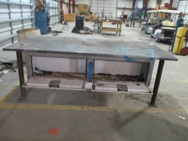 Steel Work Tables - Image 3 of 5