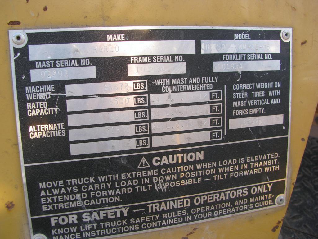 Harlo Forklift - Image 4 of 5