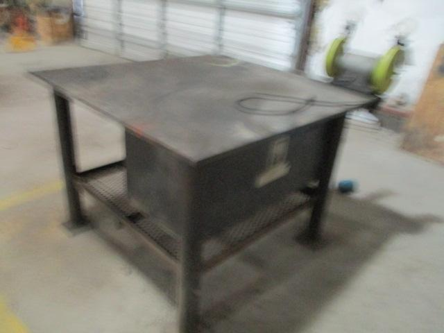 Bench Grinder w/Steel Table - Image 2 of 3