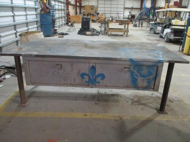 Steel Work Tables - Image 2 of 5