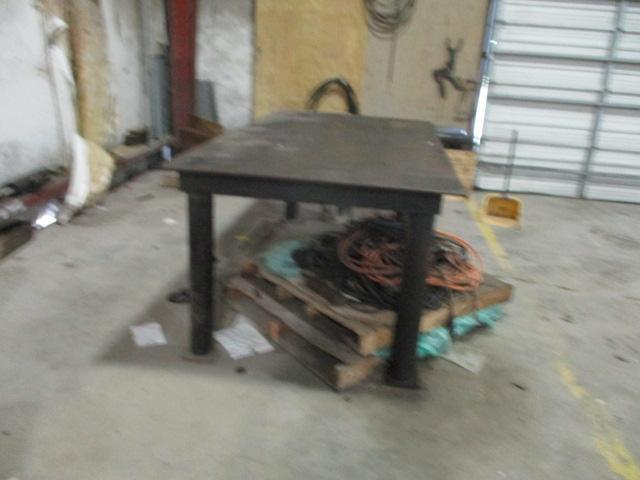 Steel Work Tables - Image 5 of 5