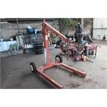 CHERRY PICKER, 1500 LB CAPACITY