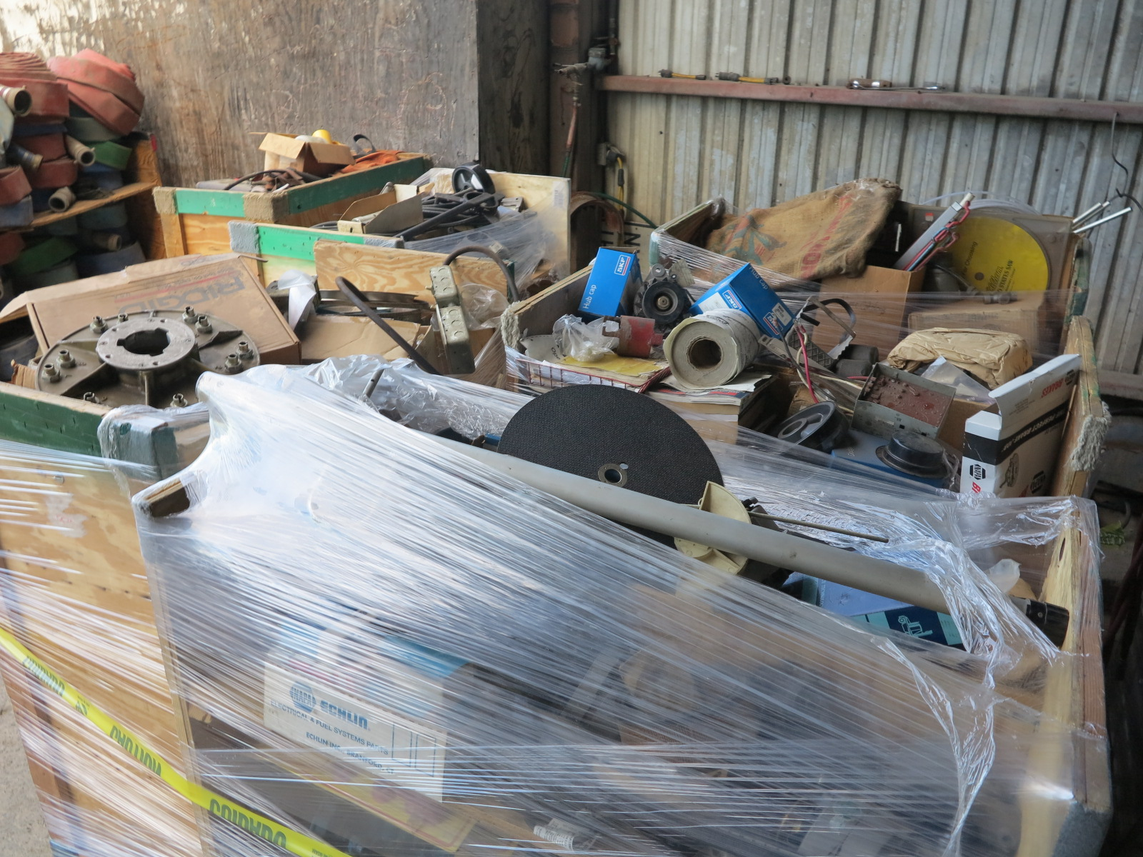 LOT - (6) CARTS TO CONTAIN: JACKHAMMER BITS, AUTOMOTIVE AND RELATED ITEMS - Image 4 of 5