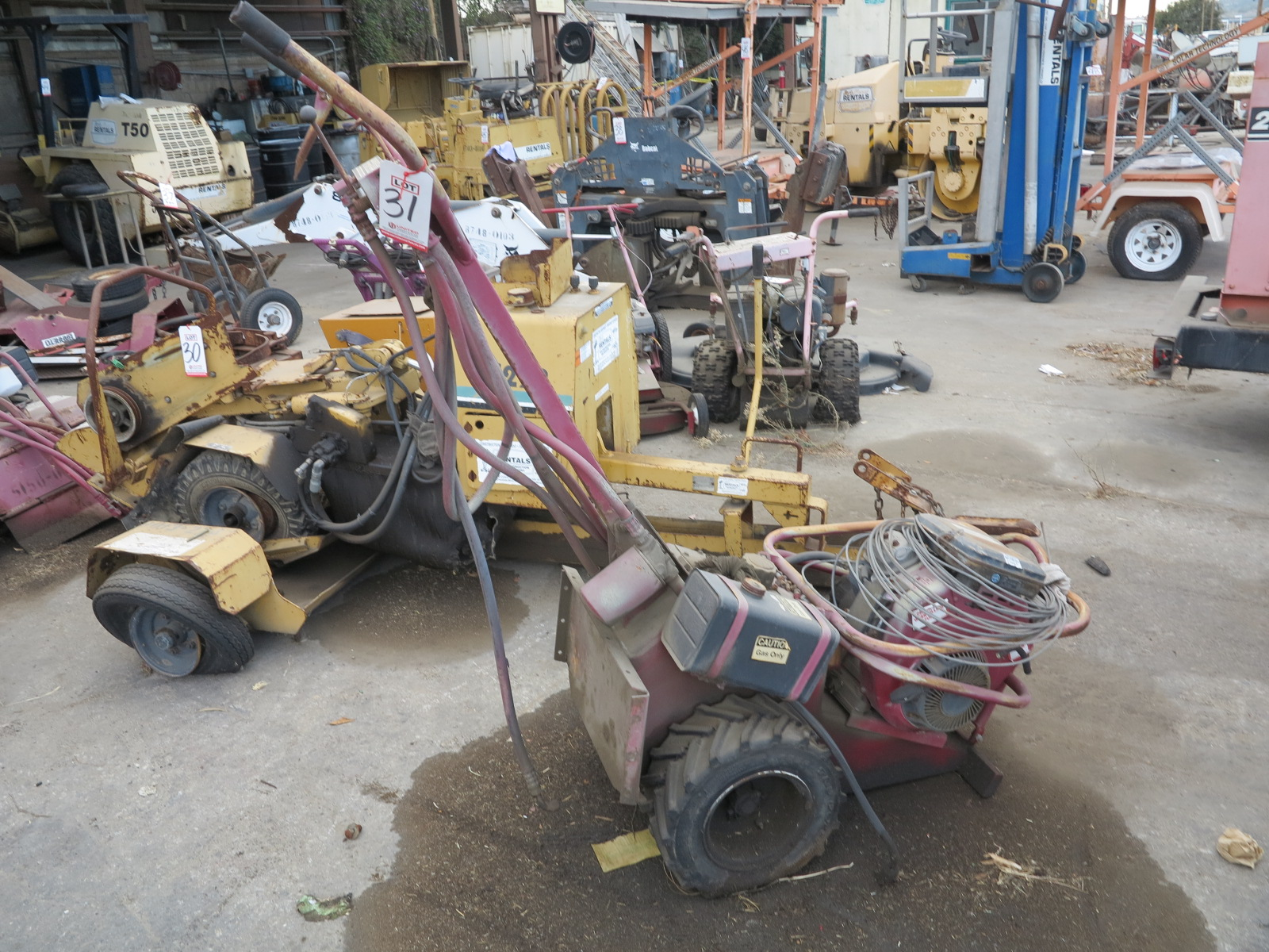 Lot 31 - ROTOTILLER (OUT OF SERVICE)