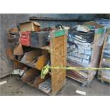 LOT - (6) CARTS TO CONTAIN: JACKHAMMER BITS, AUTOMOTIVE AND RELATED ITEMS