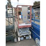 "SCISSOR LIFT, 26"" X 64"" PLATFORM (OUT OF SERVICE)"