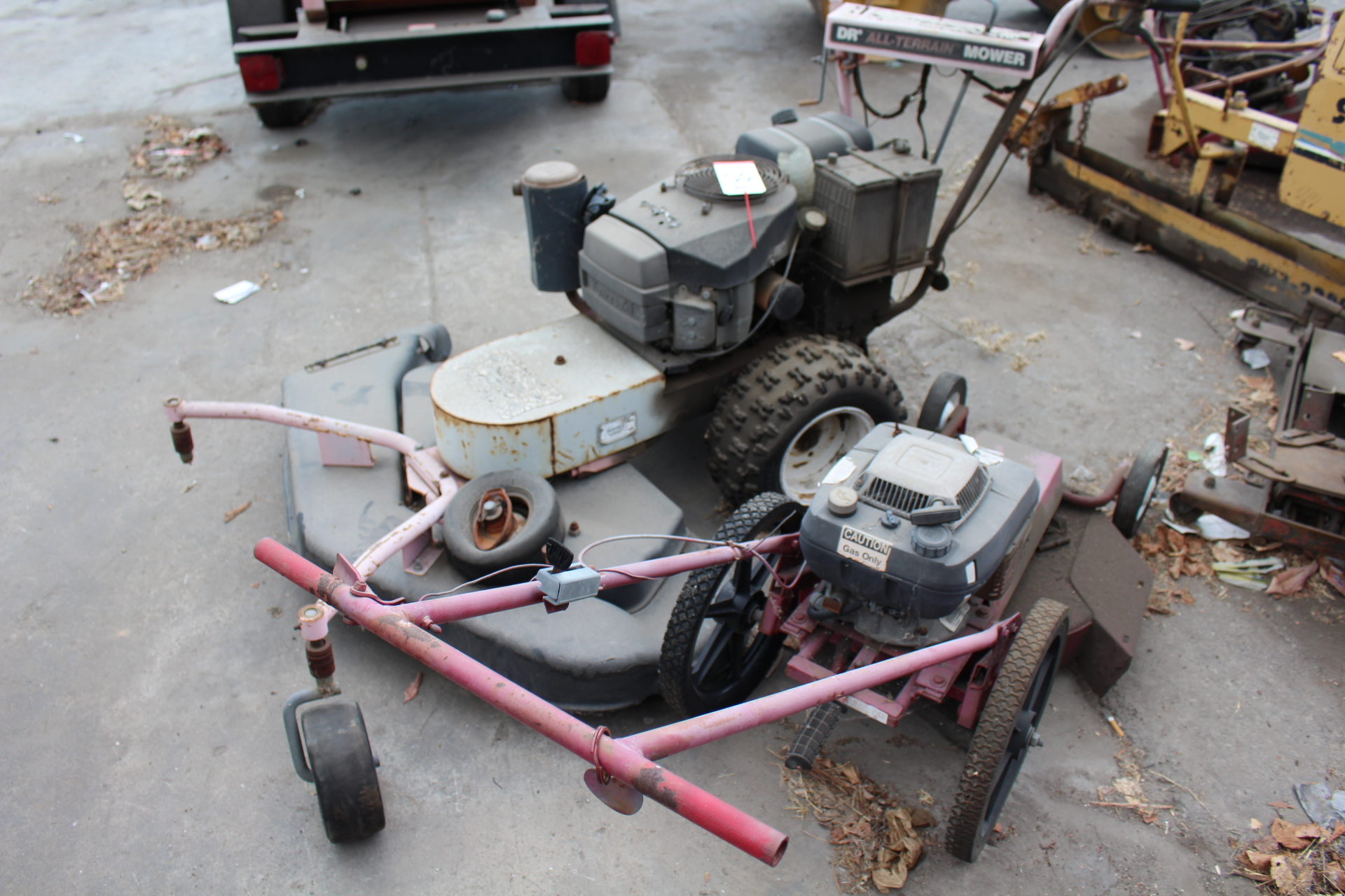 Lot 35 - LOT - (2) ALL TERRAIN MOWERS (OUT OF SERVICE)