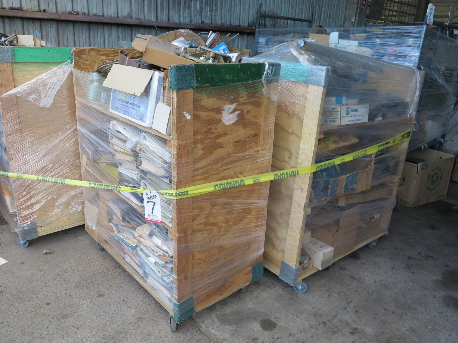 LOT - (6) CARTS TO CONTAIN: JACKHAMMER BITS, AUTOMOTIVE AND RELATED ITEMS - Image 2 of 5