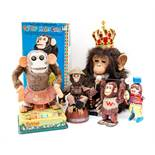 Monkeys: A King of the Jungle, Extremely Clever Monkey Automaton; Talking Monkey, film related;