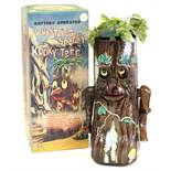 Whistling Spooky Kooky Tree: A boxed, battery operated, tinplate, Whistling Spooky Kooky Tree,