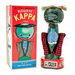 Pleasant Kappa: A boxed 1950's, battery operated, tinplate, Pleasant Kappa, unusual Japanese