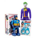 Batman: A boxed 1960's battery operated tinplate, Batman, made by TN Toys (Nomura), walks forward,