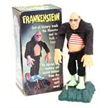 Frankenstein: A boxed 1980's, battery operated, plastic Frankenstein, Made by Poynter Products,