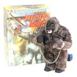The Mighty Kong: A boxed, battery operated, remote control, tinplate and fur, Mighty Kong, Made by
