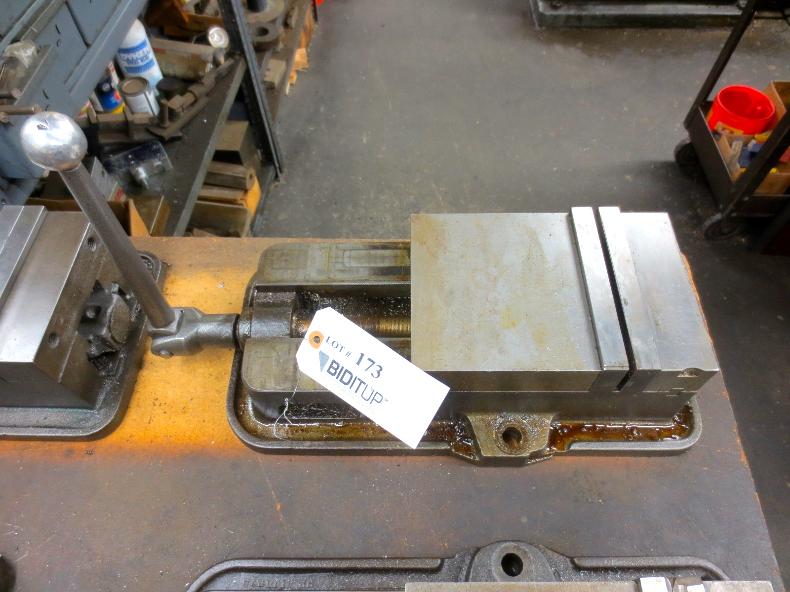 milling machine vise for sale