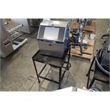 Hitachi ink jet printer, Model RX2-SD160W, SN R2S05244503, 1 ph., 100-120 volt, on stand { Rigging