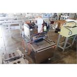 2014 Multivac tray sealer, Model T200, SN 192165, 220 volt, 3 phase, with pallet of spare plates (