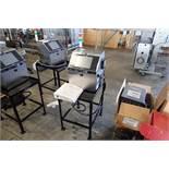 Hitachi ink jet printer, Model RX2-SD160W, SN R2S05242503, 1 ph., 100-120 volt, on stand { Rigging