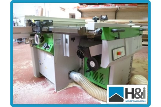 Felder Cf741 Combination Woodworking Machine Comprising Of 400mm X