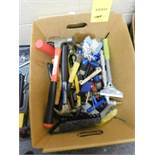 LOT: Assorted Hammers, Scrapers, Allen Wrenches, Screw Drivers