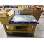 Nuarc VFC40 Vacuum Table, S/N 2KB-C87-020