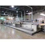 LOT: Thieme 5060 In-Line 4-Station Silk Screen Line (2004), with (2) Cabinets containing Parts & Sup