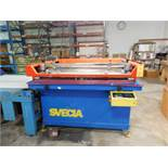 Svecia Senator Silk Screen Printer, S/N 97-580