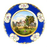 An interesting German porcelain plate, dated 1856.