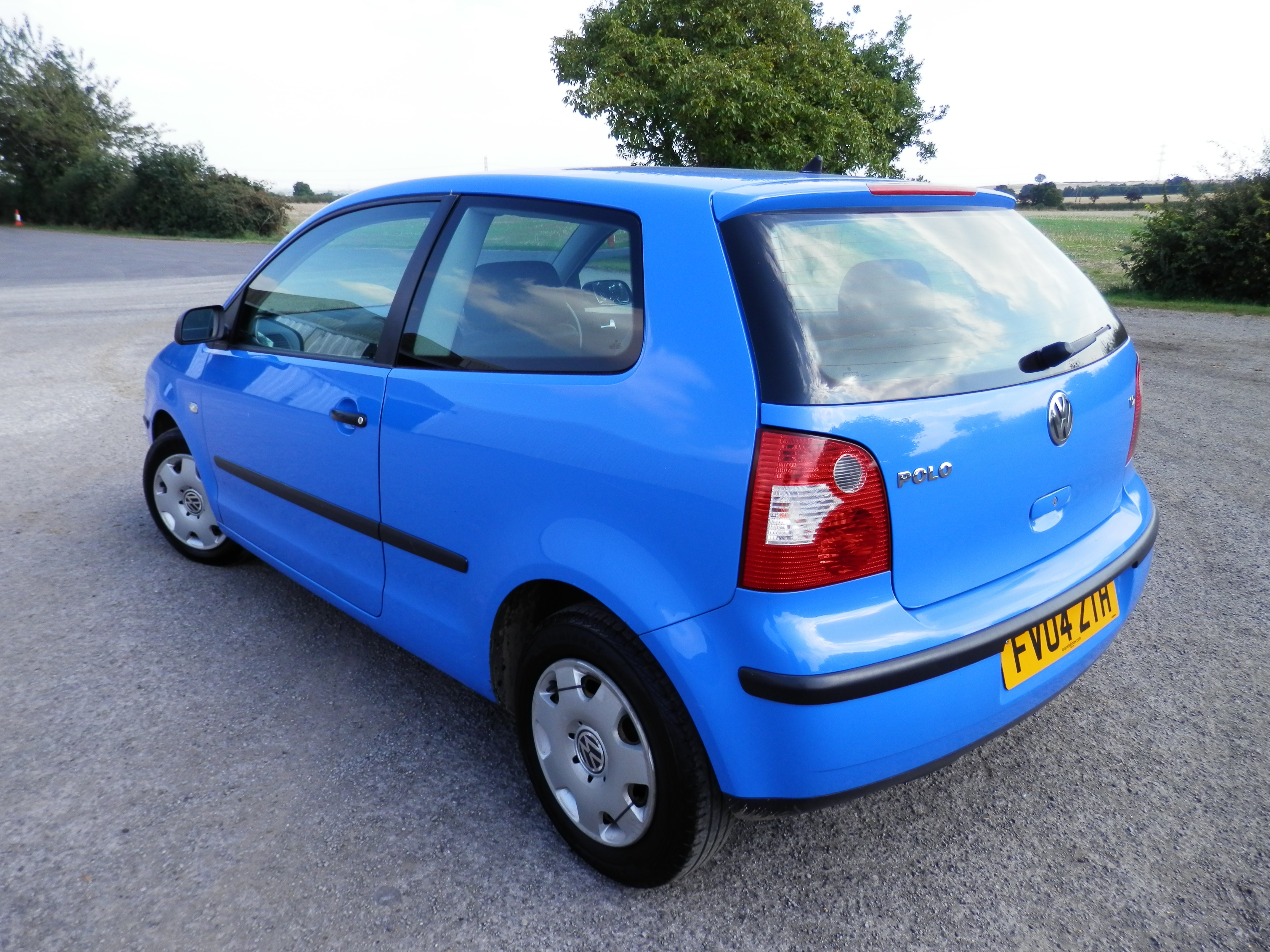 2004/04 PLATE VOLKSWAGEN POLO 1.2 S WITH POWER STEERING, 108K MILES, MOT 08 MAR 2017 DRIVEN