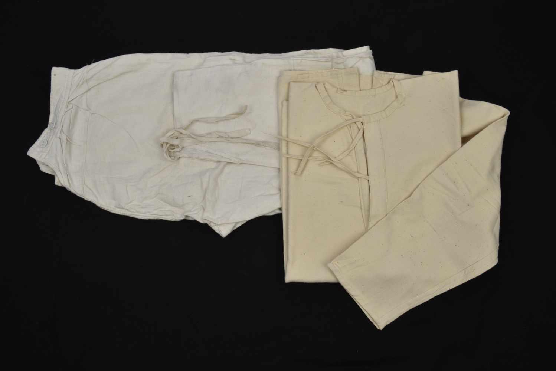 Bidon M.31 daté 1931 avec étui suspendu en toile khaki. Cette pièce provient de la collection - Bild 3 aus 4