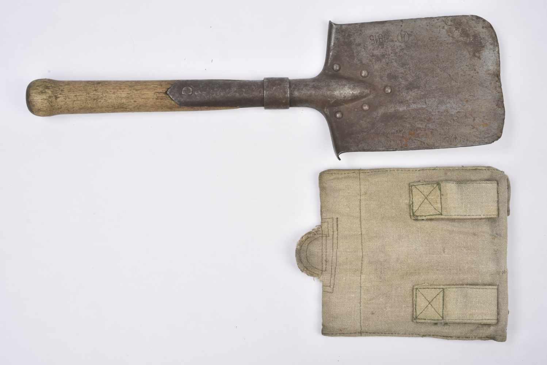 Pelle droite datée 1915 avec étui précoce. Cette pièce provient de la collection Philippe Rio. Son - Bild 2 aus 4