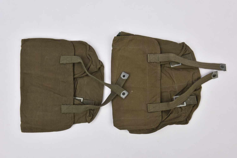 Ensemble de sacs à pain Lot de 2 sacs à pain, datés 1941, NEUF! Cette pièce provient de la